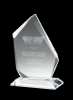 Summit Award Clear Optical Crystal Awards