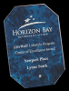 Blue Octagon Arista Glass Award Sales Awards