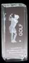 Sport Crystal Golf, Female Award