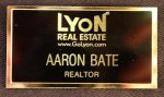 Executive Metal Name Badges 17. Name badges and Signs