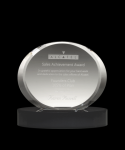 Eterenity Black Optical Crystal Awards