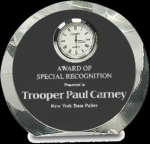 Crystal Round Clock Circle Awards