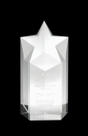 The Star Clear Optical Crystal Awards