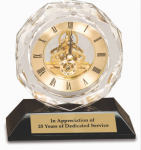 Crystal Clock Clock Crystal Awards