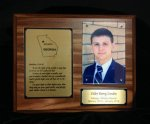 LDS Missionary Plaque Economy Plaque Awards