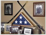 Patriot Flag Case Flag Display Case