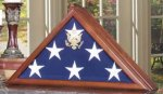 Vice Presidential Flag Case Flag Display Case