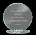 Jade Circle Glass Awards