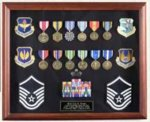 Shadowbox Dispaly Case Patriotic Awards