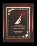 Piano Finished Rosewood Plaque Sales Awards