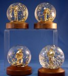 Golden Rain Globe Speaker Gift Awards