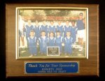 Picture Plaque Award Trapshooting Trophy Awards